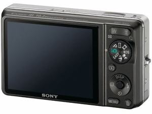 Sony DSC W-X1 Manual - camera back side