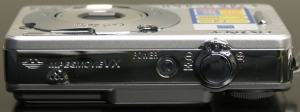 Sony DSC-W70 Manual - camera side