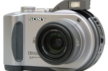 Sony MVC-CD200 Manual - camera face