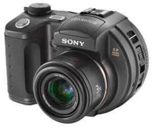Sony MVC-CD500 Manual - camera front face