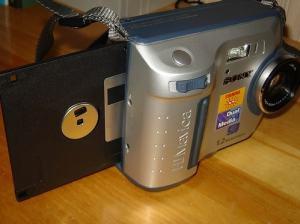 Sony MVC-FD100 Manual - camera side