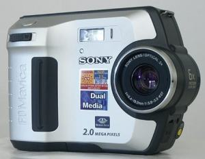 Sony MVC-FD200 Manual - cAMERA FRONT SIDE