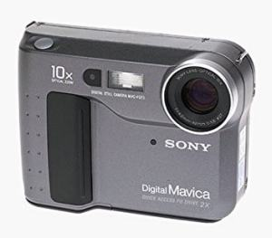 Sony MVC-FD51 Manual User Guide and Camera Specification
