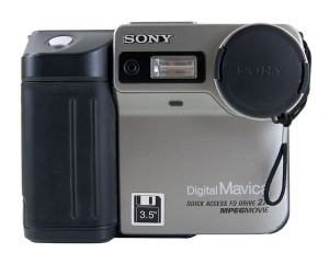 Sony MVC-FD81 Manual - camera front face