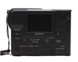 Sony MVC-FD83 Manual camera rear side