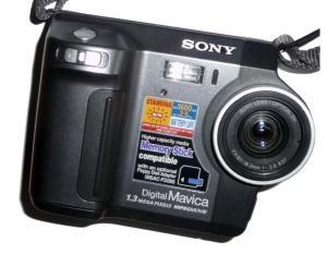 Sony MVC-FD85 Manual - camera front face