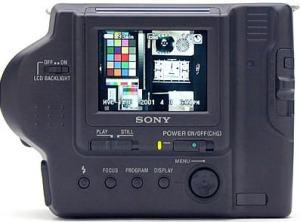 Sony MVC-FD87 Manual - camera rear side