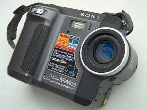 Sony MVC-FD90 Manual - camera front face