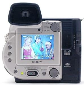 Sony MVC-FD97 Manual - camera rear side