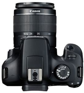 Canon EOS 3000D Review; Top Plate