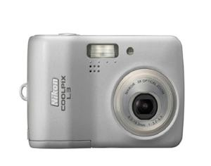 Nikon CoolPix L3 Manual User Guide and Product Specification
