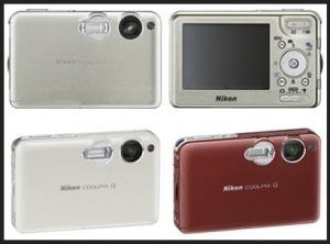 Nikon CoolPix S3 Manual - camera variants