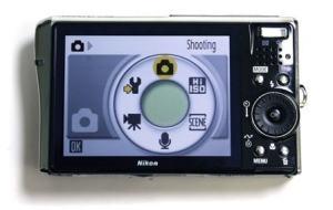 Nikon CoolPix S50c Manual - camera rear side