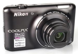 Nikon CoolPix S6400 Manual - camera front face