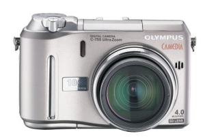 Olympus C-755 Ultra Zoom Manual - camera front face