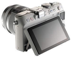 Olympus E-PL3 Manual - camera rear side