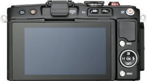 Olympus E-PL6 Manual - camera rear side