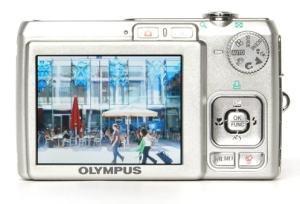 Olympus FE-250 Manual - camera rear side