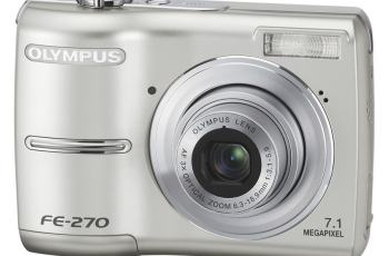 Olympus FE-270 Manual User Guide and Product Specification