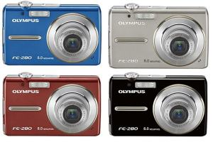 Olympus FE-280 Manual - camera variants