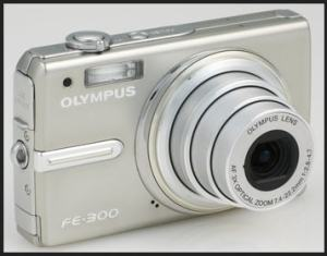 Olympus FE-300 Manual - camera front side