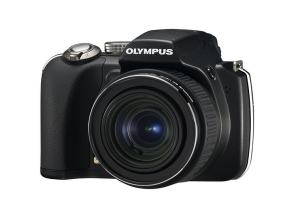 Olympus SP-565 UZ Manual - camera front face