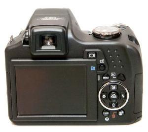 Olympus SP-590UZ Manual - camera rear side