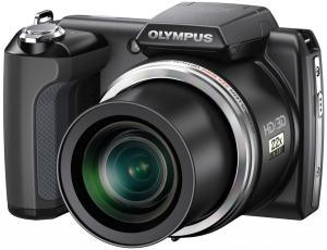 Olympus SP-610UZ Manual - camera front face