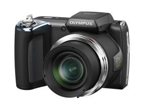Olympus SP-620UZ Manual - camera front face