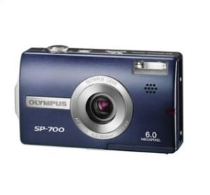 Olympus SP-700 Manual - blue variant