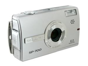 Olympus SP-700 Manual - front face