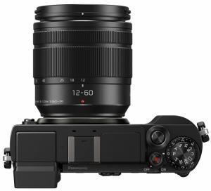 Panasonic Lumix GX9; Camera's top plate
