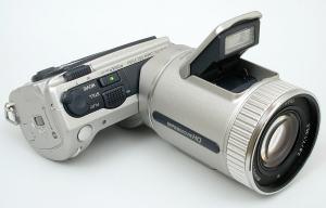 Sony DSC F505V Manual - front face