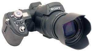 Sony DSC F828 Manual - camera front face