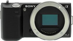 Sony NEX-5 Manual - camera front face