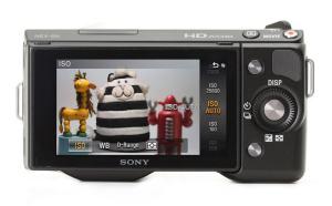Sony NEX-5 Manual - camera rear side