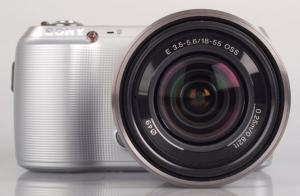 Sony NEX C3K Manual - camera front side