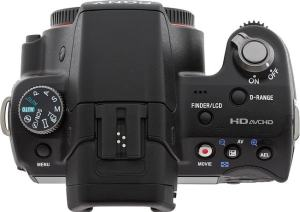 Sony SLT A-35 Manual - camera top side