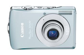 Canon PowerShot SD630 Manual - camera front face