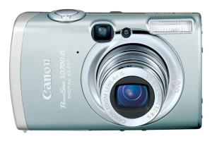 Canon PowerShot SD700 IS Manual - camera front face