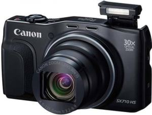 Canon PowerShot SX710 HS Manual - camera front face