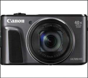 Canon PowerShot SX720 HS Manual - camera front face