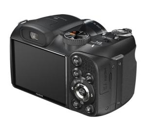 FujiFilm FinePix S2800HD Manual - camera rear side