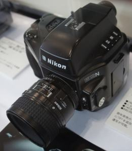 Nikon E2N Manual - top side