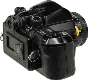 Pentax 645N II Manual - camera rear side