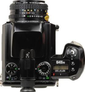 Pentax 645N II Manual - camera top plate
