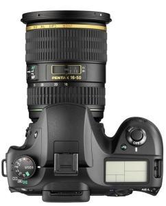 Pentax K20D Manual - camera top plate