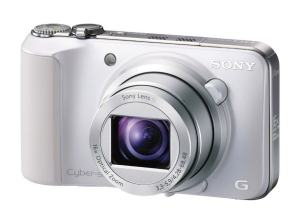 Sony DSC HX10V Manual - camera front face