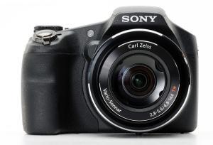 Sony DSC HX200V Manual - camera front face