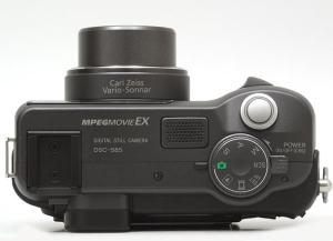 Sony DSC-HX400V Manual - Camera top side
